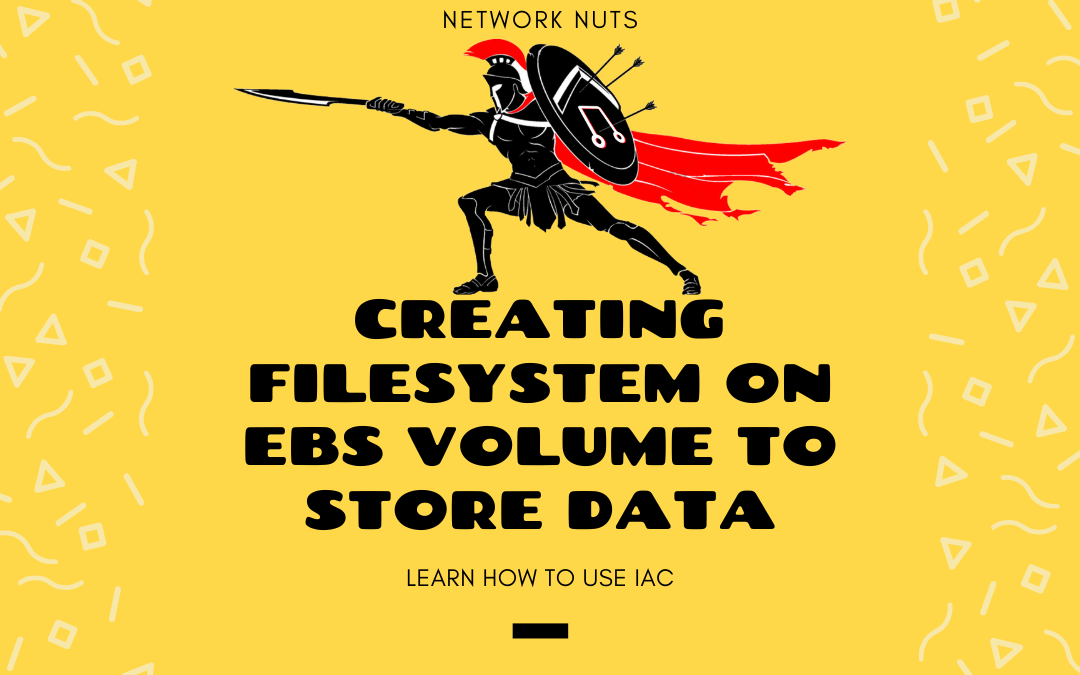 Creating Filesystem on EBS Volume to Store Data