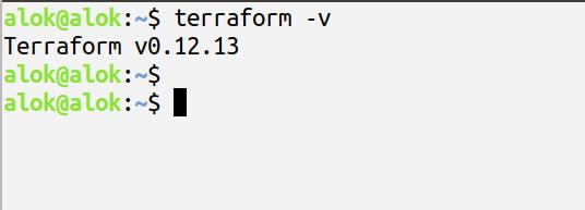 terraform installation on linux machine